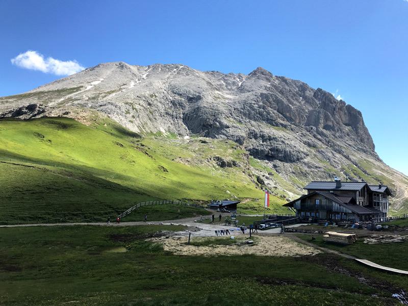 tyrol południowy szlaki