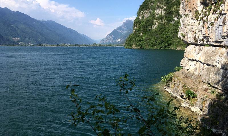 via ferrata jezioro Idro