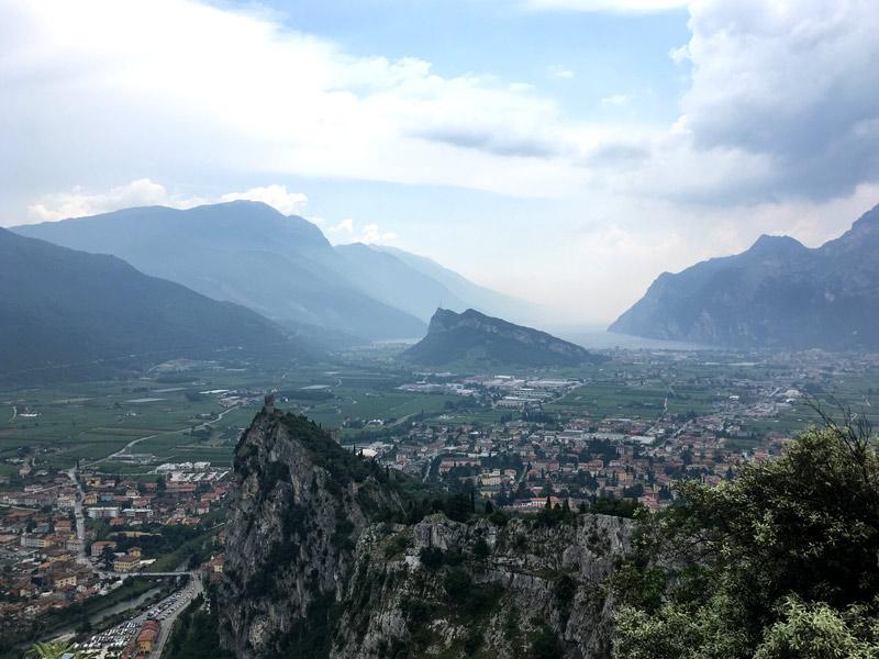 jezioro Garda góry