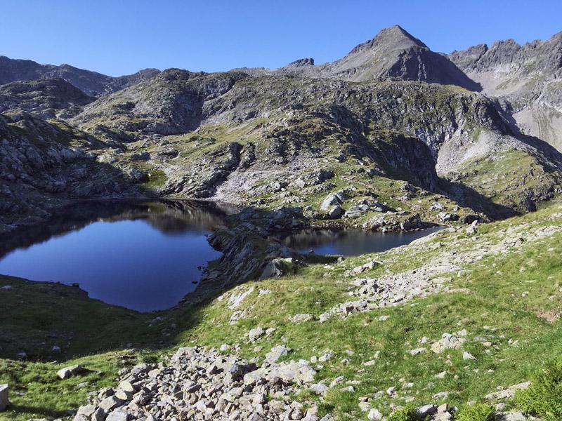 jeziora w alpach