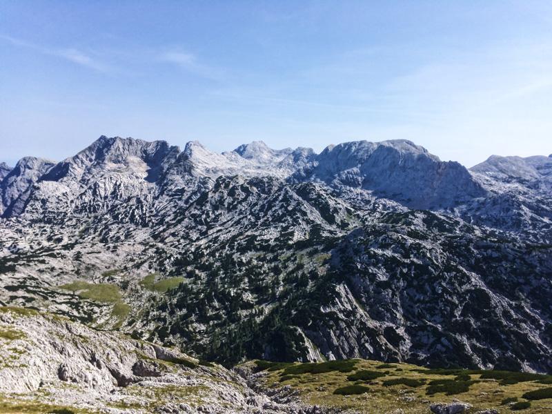 widok na Totes Gebirge