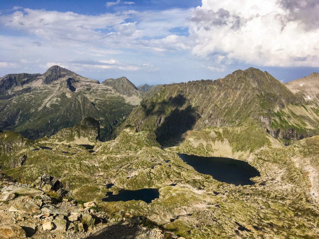 widok na Klafferkessel ze szczytu Greifenberg
